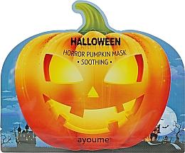 Parfumuri și produse cosmetice Mască calmantă cu extract de dovleac - Ayoume Halloween Horror Pumpkin Mask Soothing