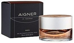 Parfumuri și produse cosmetice Aigner In Leather Man - Apă de toaletă