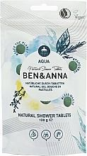 Parfumuri și produse cosmetice Gel-pastile de duș - Ben&Anna Aqua Natural Shower Tablets