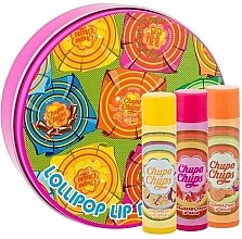 Parfumuri și produse cosmetice Set balsamuri de buze - Chupa Chups Lip Balm (lip/balm/4gx3)