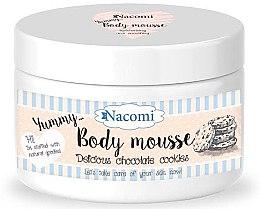 """Parfumuri și produse cosmetice Mousse de corp """"Cookies de ciocolată"""" - Nacomi Body Mousse"""