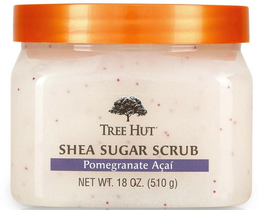 """Scrub pentru corp """"Rodie și Acai"""" - Tree Hut Shea Sugar Scrub — Imagine N1"""