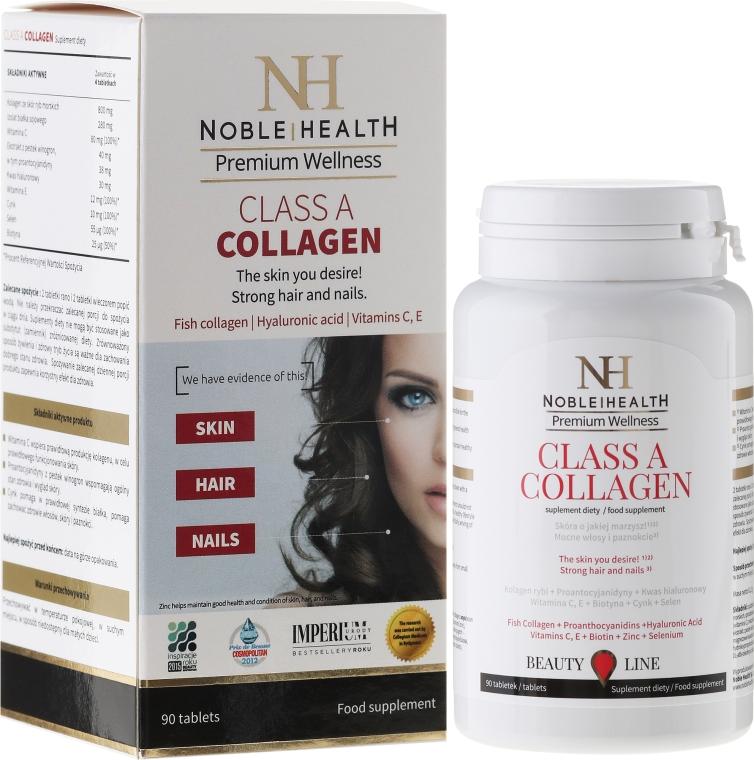 Suplimente pentru îngrijirea corpului, feței și a părului - Noble Health Kolagen Class A