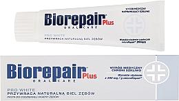 Parfumuri și produse cosmetice Pastă de dinți cu efect de înălbire - BioRepair Plus PRO White