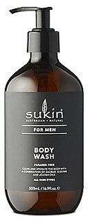 Gel de duș - Sukin Sukin For Men Body Wash — Imagine N1