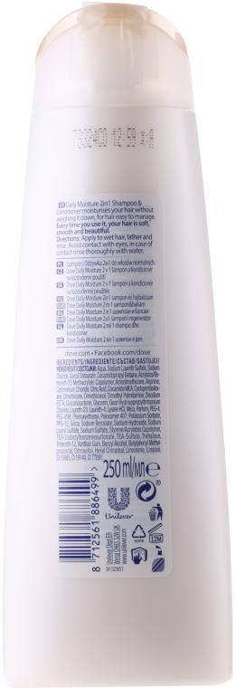"""Șampon + Balsam 2 în 1 """"Îngrijire de bază"""" - Dove — Imagine N2"""