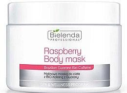 Parfumuri și produse cosmetice Mască de corp - Bielenda Professional Raspberry With Guarana Bio-Caffeine Body Mask