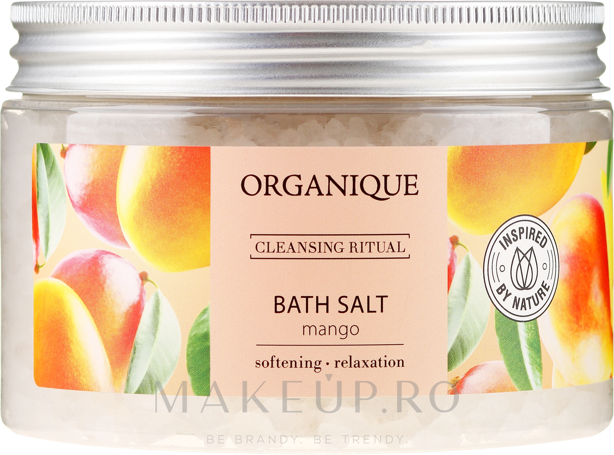 "Sare de baie relaxantă ""Mango"" - Organique — Imagine 600 g"