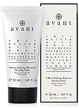 Parfumuri și produse cosmetice Mască revitalizantă de noapte, 8 ore - Avant Discovery Edit -8 hour Radiance Renewal Sleeping Mask