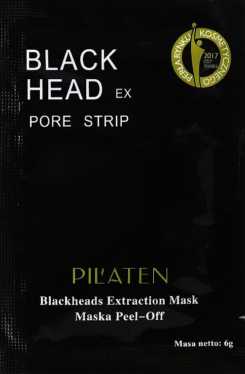 Mască pentru acnee - Pilaten Hydra Suction Black Mask (mostră)