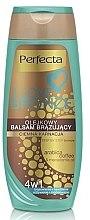 Parfumuri și produse cosmetice Balsam bronzant de corp, închis - Perfecta I Love Bronze Balm