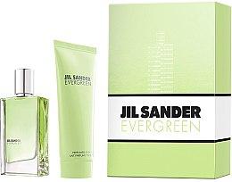 Parfumuri și produse cosmetice Jil Sander Evergreen - Set (edt/30ml + body/lot/75ml)