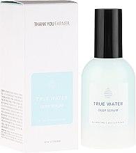 Parfumuri și produse cosmetice Ser profund hidratant antirid pentru față - Thank You Farmer True Water Deep Serum