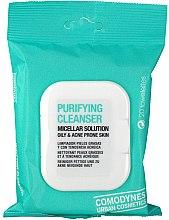 Parfumuri și produse cosmetice Șervețele micelare de curățare pentru ten gras și acneic - Comodynes Purifying Cleanser Oily & Acne Prone Skin