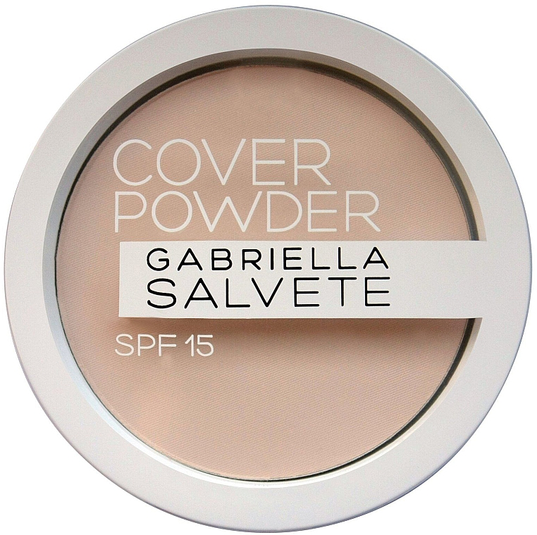 Pudră de față - Gabriella Salvete Cover Powder SPF15 — Imagine N1