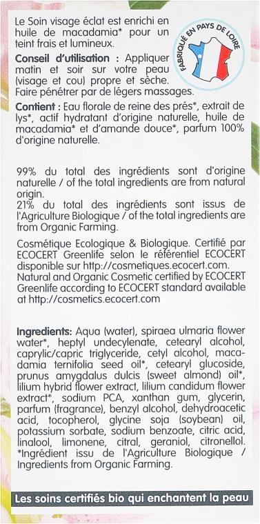 Cremă de față - Coslys Facial Care Facial Day CreamWith Lily Extract — Imagine N3