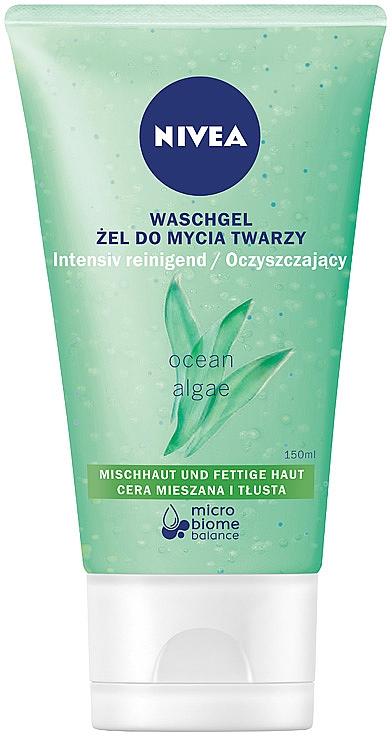Gel de spălare matifiant pentru pielea grasă - Nivea Aqua Effect