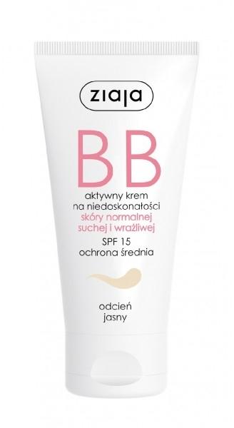 BB-cream de față - Ziaja BB-Cream Jasny