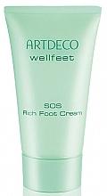 Parfumuri și produse cosmetice Cremă hidratantă pentru picioare - Artdeco Wellfeet SOS Rich Foot Cream (tester)