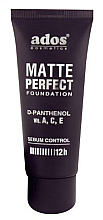 Parfumuri și produse cosmetice Fond de ten mat - Ados Matte Perfect Foundation