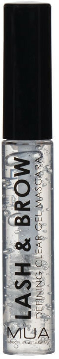 Gel pentru sprâncene și gene - MUA Lash & Brow Clear Mascara