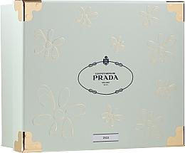 Parfumuri și produse cosmetice Prada Les Infusions De Iris - Set (edp/100ml + + b/lot/100ml + edp/mini/10ml)