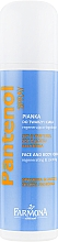 Parfumuri și produse cosmetice Spumă regenerantă și calmantă pentru față și corp - Farmona Panthenol Face and Body Foam in Spray Sunburns
