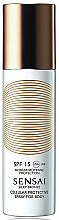 Parfumuri și produse cosmetice Spray de protecție solară pentru corp SPF 15 - Kanebo Sensai Cellular Protective Spray For Body