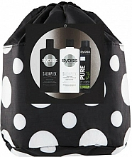 Parfumuri și produse cosmetice Set - Syoss Salon Plex (shm/500ml + balm/500ml + sh/200ml + pouch)