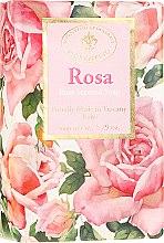 "Parfumuri și produse cosmetice Săpun natural ""Trandafir"" - Saponificio Artigianale Fiorentino Masaccio Rose Soap"