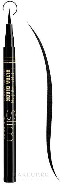 Eyeliner - Bourjois Liner Feutre Slim — Imagine Ultra Black