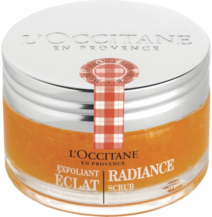 Scrub exfoliant pentru strălucirea pielii - L'Occitane Radiance Scrub — Imagine N2