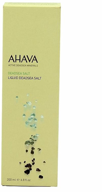 Sare lichidă din Marea Moartă - Ahava Deadsea Salt Liquid Deadsea Salt — Imagine N3