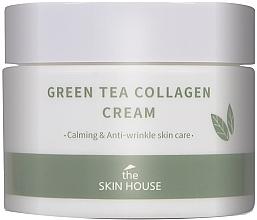 Parfumuri și produse cosmetice Cremă calmantă cu colagen și extract de ceai verde - The Skin House Green Tea Collagen Cream