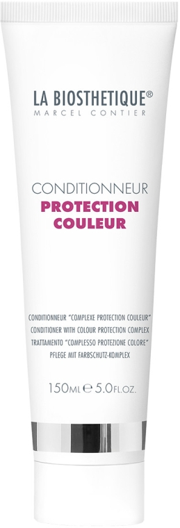 Soluție regenerantă pentru îngrijirea părului - La Biosthetique Conditionneur Protection Couleur — Imagine N1