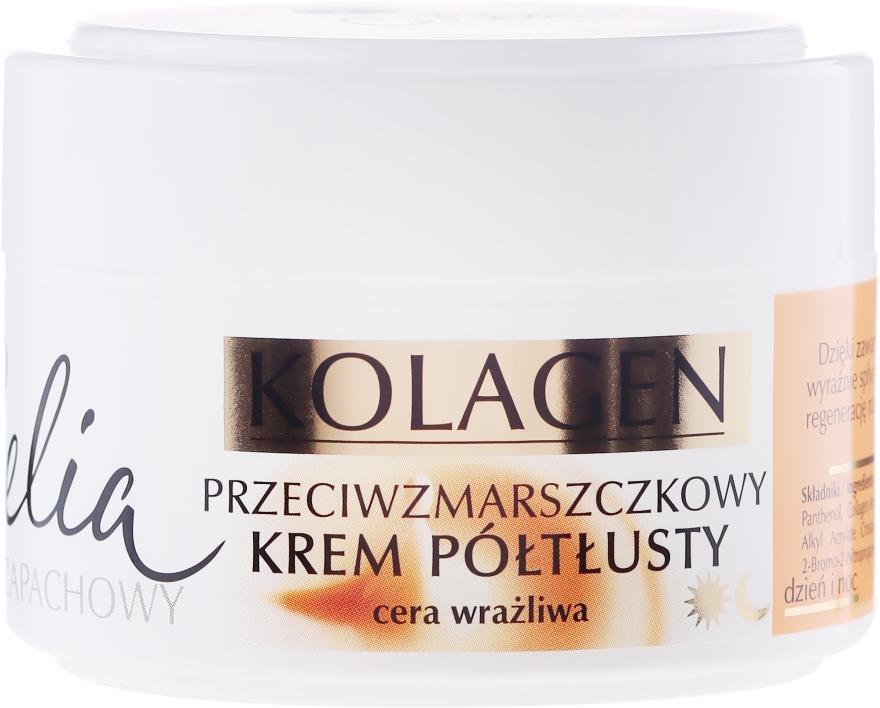 Cremă antirid pentru ten sensibil - Celia Collagen Cream