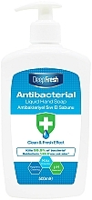 Parfumuri și produse cosmetice Săpun lichid antibacterian pentru mâini - Aksan Deep Fresh Antibacterial Liquid Hand Soap