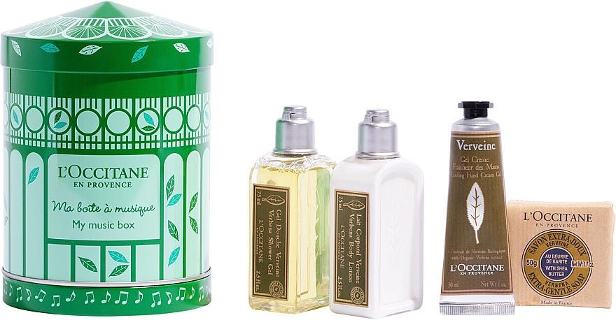 Set - L'Occitane Verbena My Music Box (sh/gel/75ml + b/milk/75ml + h/cr/30ml + soap/50g) — Imagine N1