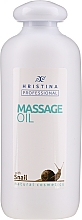 Parfumuri și produse cosmetice Ulei cu extract de mucină de melc pentru masaj - Hrisnina Cosmetics Professional Massage Oil With Snail
