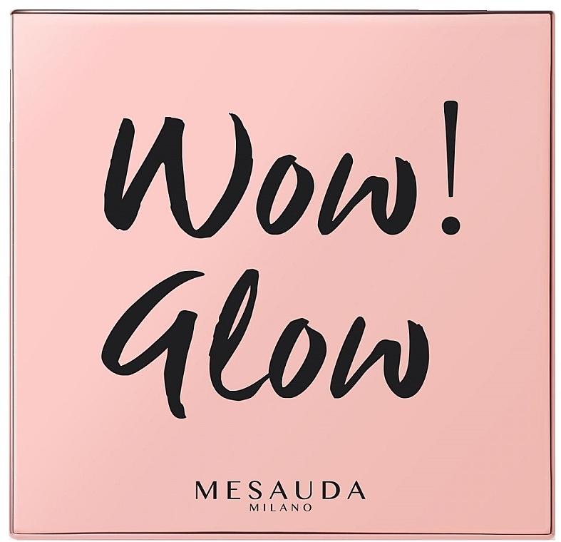 Iluminator pentru față - Mesauda Milano Wow! Glow Highlighters — Imagine N1