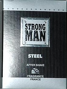 Loțiune după ras - Strong Men After Shave Steel