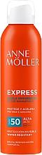 Parfumuri și produse cosmetice Spray autobronzant pentru corp - Anne Moller Express Bruma Body Tanning Spray SPF50