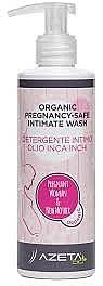 Gel organic pentru igiena intimă, pentru femei însărcinate - Azeta Bio Organic Pregnancy-Safe Intimate Wash — Imagine N2