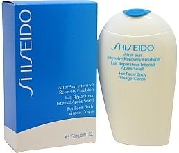 Emulsie după plajă cu efect de restabilire, pentru față - Shiseido Suncare After Sun Intensive Recovery Emulsion — Imagine N3