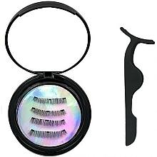 Parfumuri și produse cosmetice Set - Moon Lash Magnetic Eyelashes 001 Magnetic Moon (eyelashes/1pcs + clip)