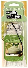 Parfumuri și produse cosmetice Odorizant pentru maşină - Yankee Candle Car Jar Vanilla Lime