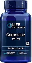 """Parfumuri și produse cosmetice Supliment alimentar """"Carnozină"""" - Life Extension Carnosine, 500 mg"""