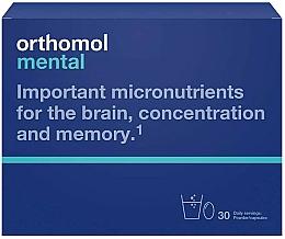 """Parfumuri și produse cosmetice Vitamine """"Mentol-zmeură"""" granule + capsule, 30 de zile - Orthomol Mental"""