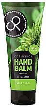 Parfumuri și produse cosmetice Balsam cu ulei de cânepă și unt de shea pentru mâini - Cosmepick Hand Balm Hemp Oil&Shea Butter