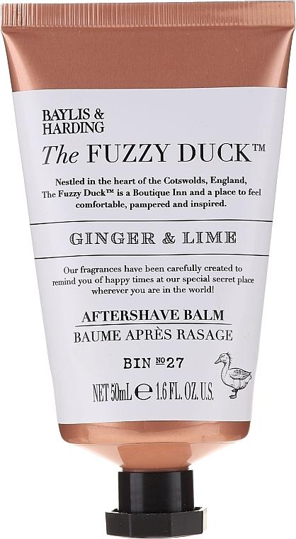 Set - Baylis & Harding The Fuzzy Duck Men's Ginger & Lime Slipper Set (bath/crystal/100g + soap/100g + sh/gel/50ml + ash/balm/50ml + slippers/1pcs) — Imagine N4
